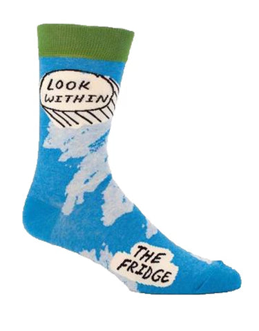 Blue Q - Men's Socks - Look Within