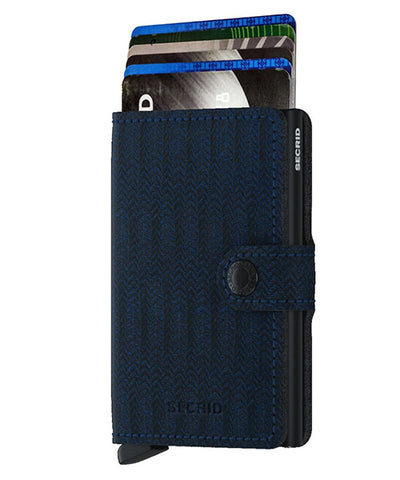 Secrid - Mini Wallet - Navy Dash
