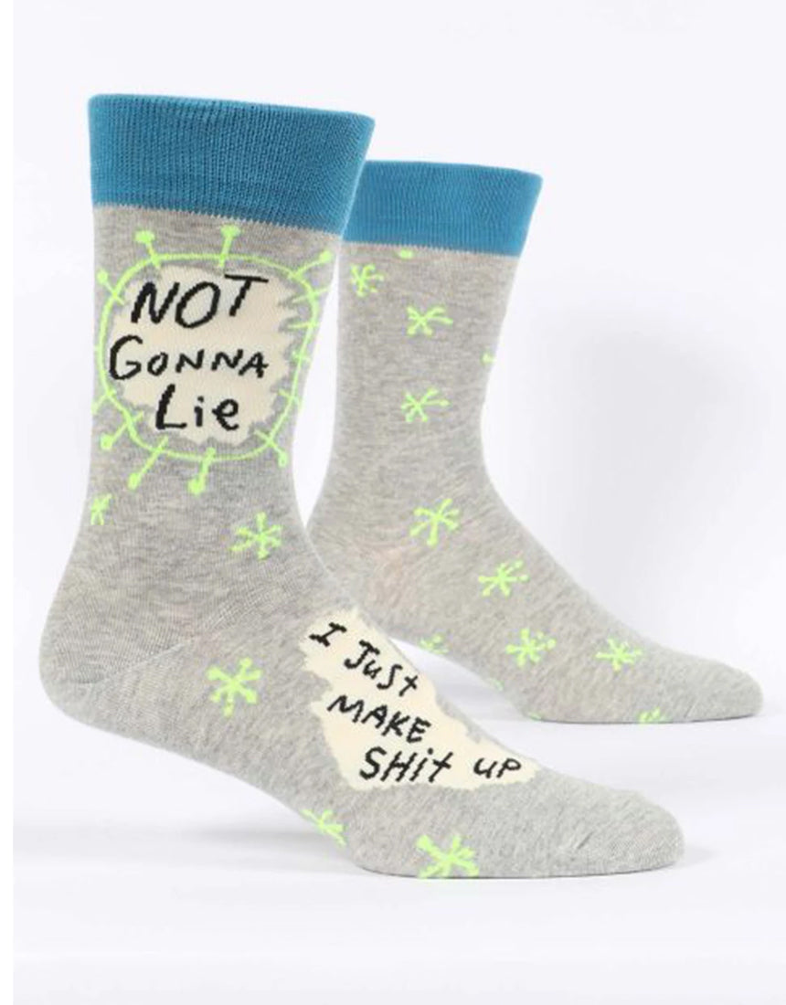 Blue Q - Men's Socks - Not Gonna Lie
