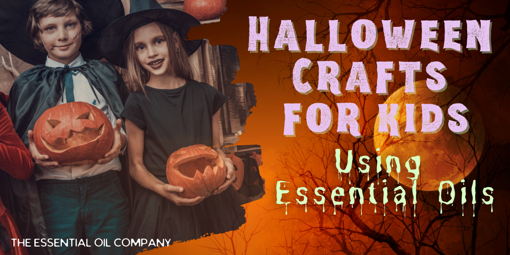 Halloween Essential Oil Crafts for Kids