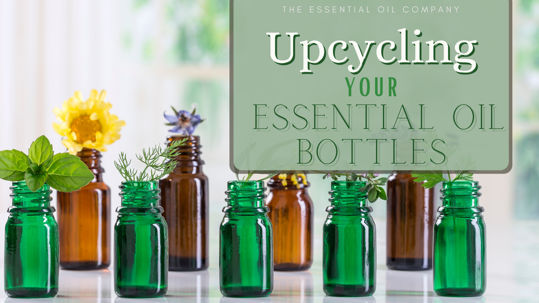 Upcycling Your Essential Oil Bottles