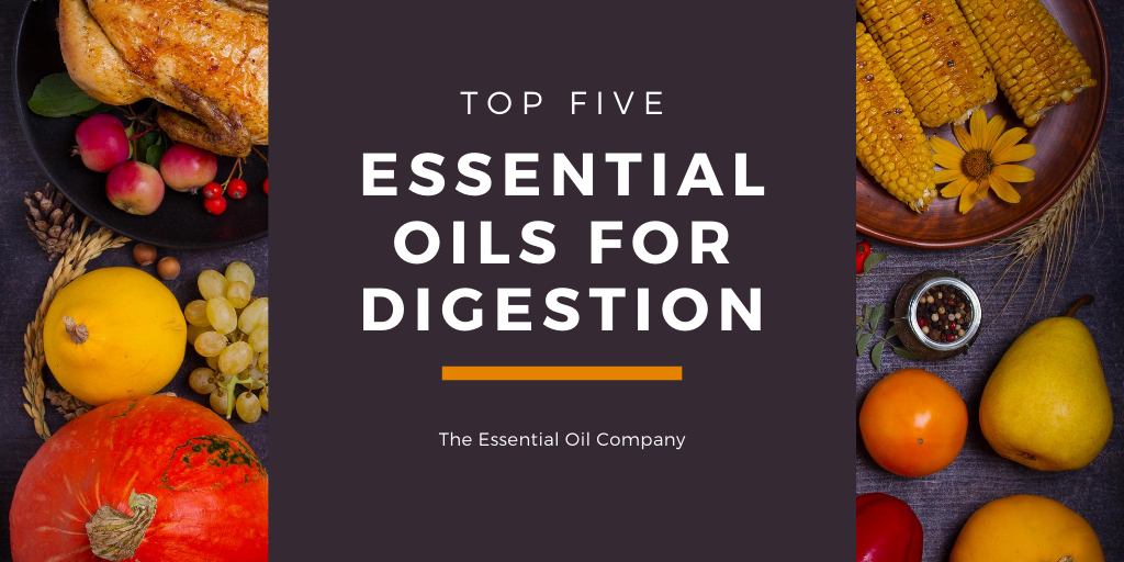 Top 5 Essential Oils for Digestion