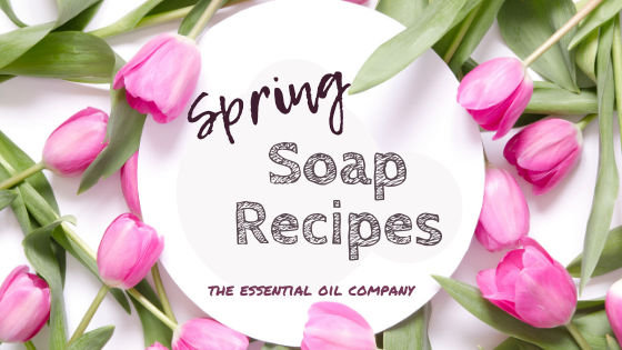 Spring Soap Recipe Ideas
