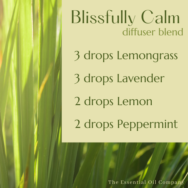 """""""Blissfully Calm"""" Diffuser Blend"""
