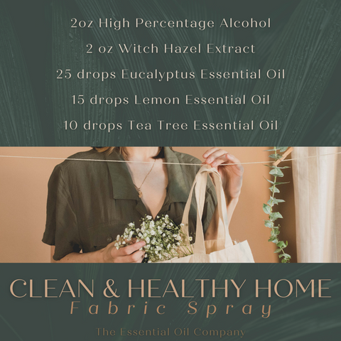 Clean and Healthy Home Fabric Spray