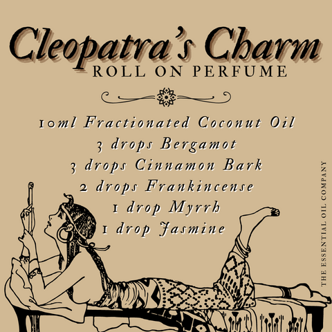cleopatra roll on essential oil blend