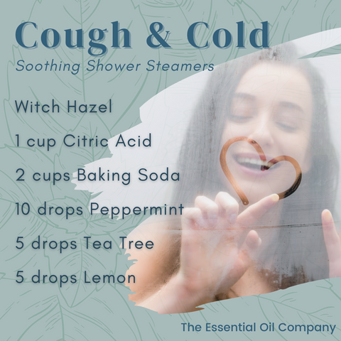 Cough and Cold Soothing Shower Steamer