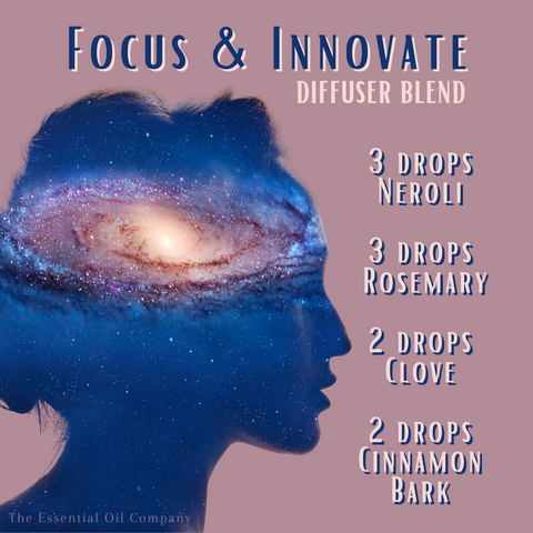 focus and innovate essential oil blend diffuser blend