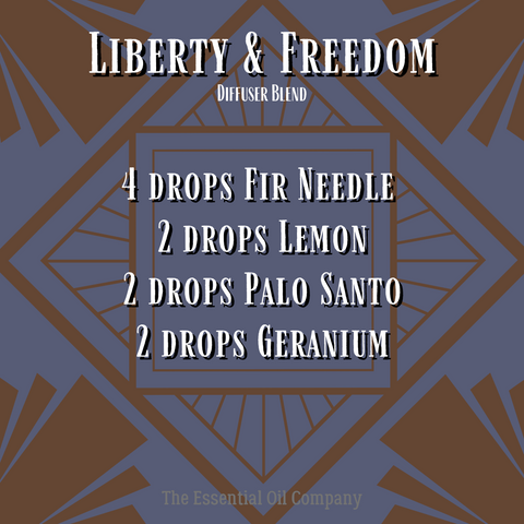 """""""Liberty & Freedom"""" Diffuser Blend"""