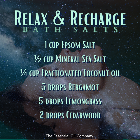 Relax and Recharge Bath Salts