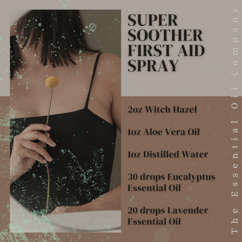 Super Soother First Aid Spray