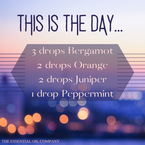 this is the day essential oil blend