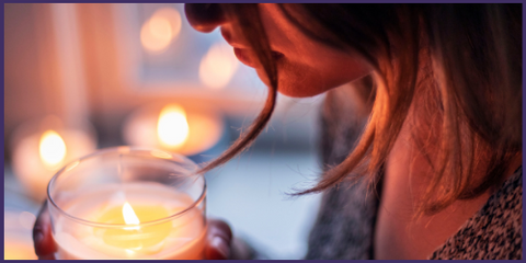 confidence candle essential oils