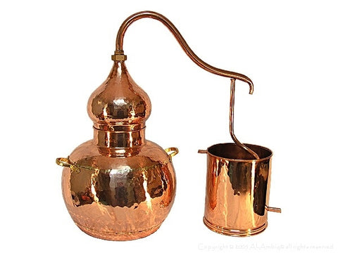 Copper Alembic distillation unit
