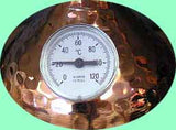 Thermometer on your alembic distiller degrees C