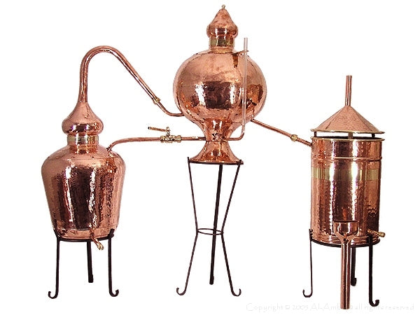 Charentais brandy still