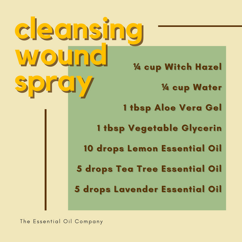Cleansing Wound Spray