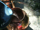 Filling the still 1/2 way wiuth water