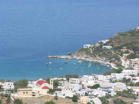 the village of Kini on Syros Island