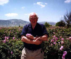 Dr Wilde is an expert in rose cultivation and extraction