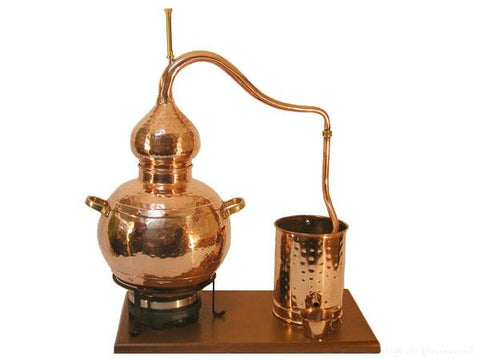 7.5 Liter Alembic Distiller With Electric Hotplate