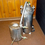 7.5 Gallon Stainless Steel Distiller With Glass Essencier