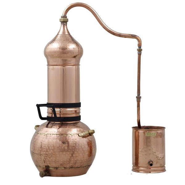 40 Liter Rotating Column Copper Alembic With Glass Essencier #distillation #copper #aAlembic #distiller #essential oil #hydrosol