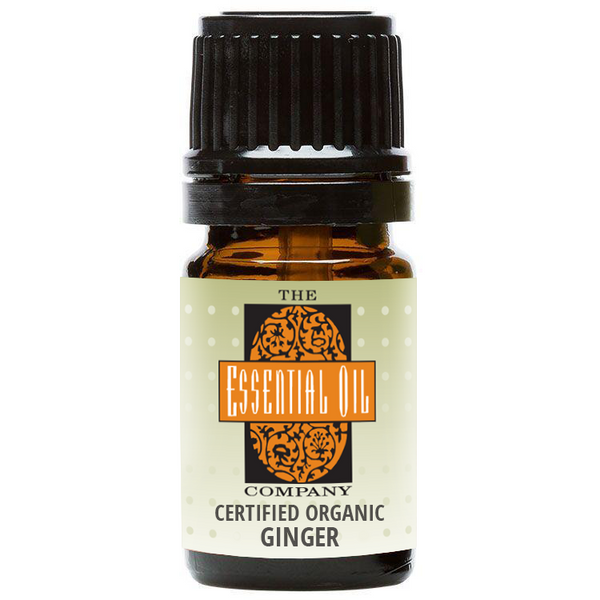 Certified Organic Ginger Oil