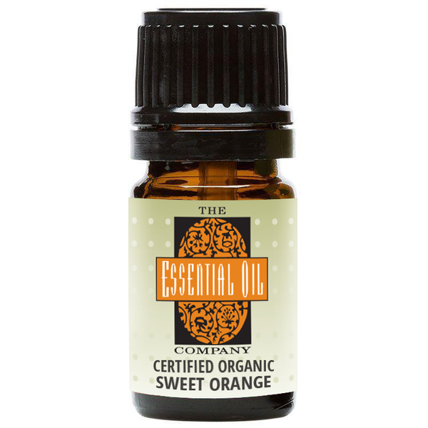 Certified Organic Sweet Orange Oil