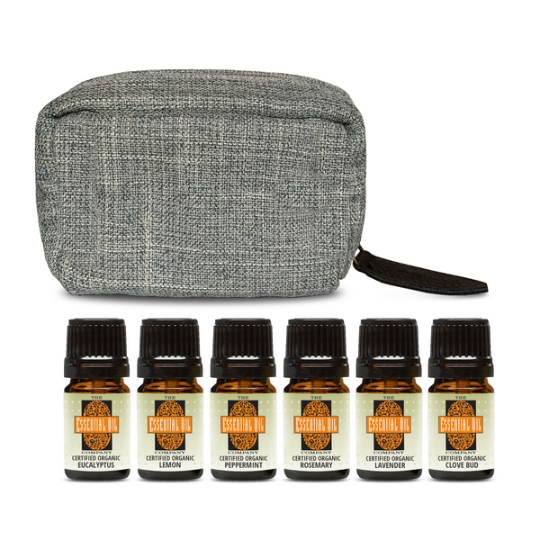 Organic Essential Oil Set - Top 6