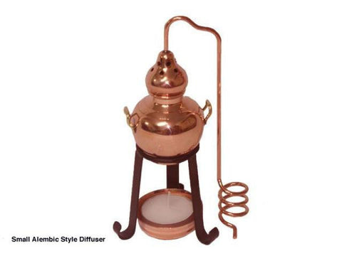 Miniature Copper Alembic Diffusers