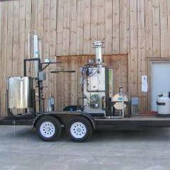 Mobile Essential Oil Distiller  #distillation #copper #alembic #distiller #essential oil  #hydrosol