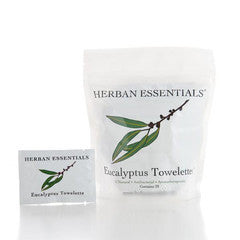 Eucalyptus Essential Oil Towelettes