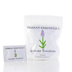 Lavender Essential Oil Towelettes
