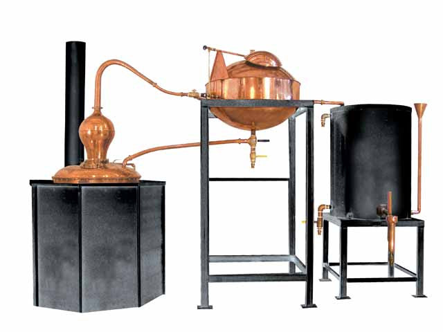 The Alambic 80 Copper Still  #distillation #copper #alembic #distiller #essential oil  #hydrosol