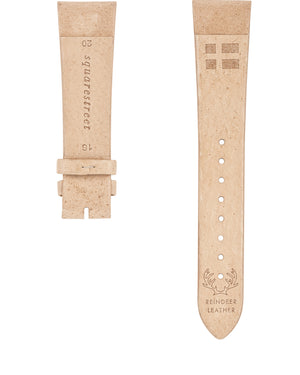 SE20/16-02 SWEDISH Natural Reindeer Leather Strap