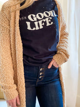 Load image into Gallery viewer, The Good Life Tee - Black