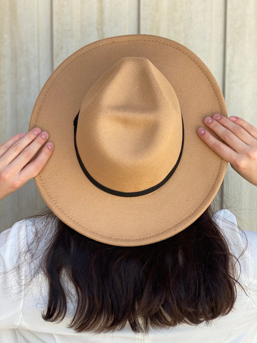 Bananza Vegan Felt Hat - Tan