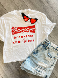 Champagne For Breakfast Crop