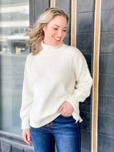 Load image into Gallery viewer, Inside Out Sweater - Ivory