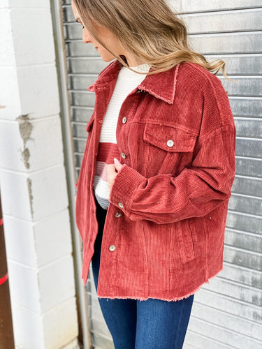 Veronica Corduroy Jacket