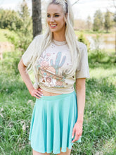 Load image into Gallery viewer, Young Love Skirt - Seafoam