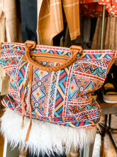 Load image into Gallery viewer, Savannah Jane Embroidered Tote