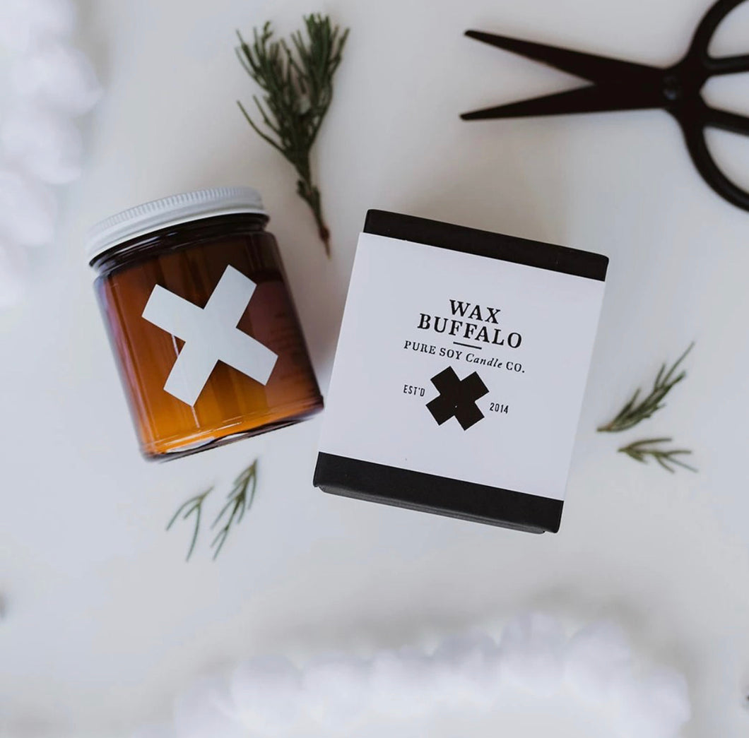 Wax Buffalo Candle - Rosemary+Mint