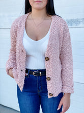 Load image into Gallery viewer, Hazel Crop Cardi - Blush