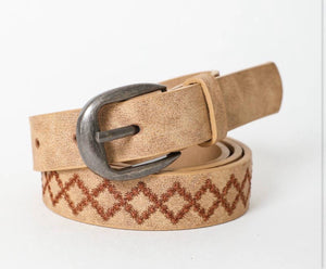 Skinny Diamond Belt