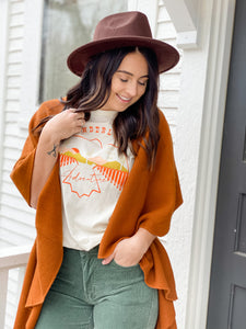 Cover Me Up Shawl - Cinnamon