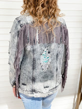Load image into Gallery viewer, Jaclin Fringe Jacket