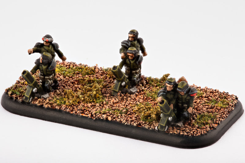 Legionnaire Mortar Teams