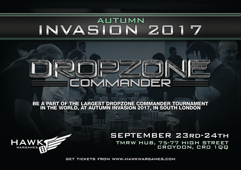 Autumn Invasion 2017 Ticket